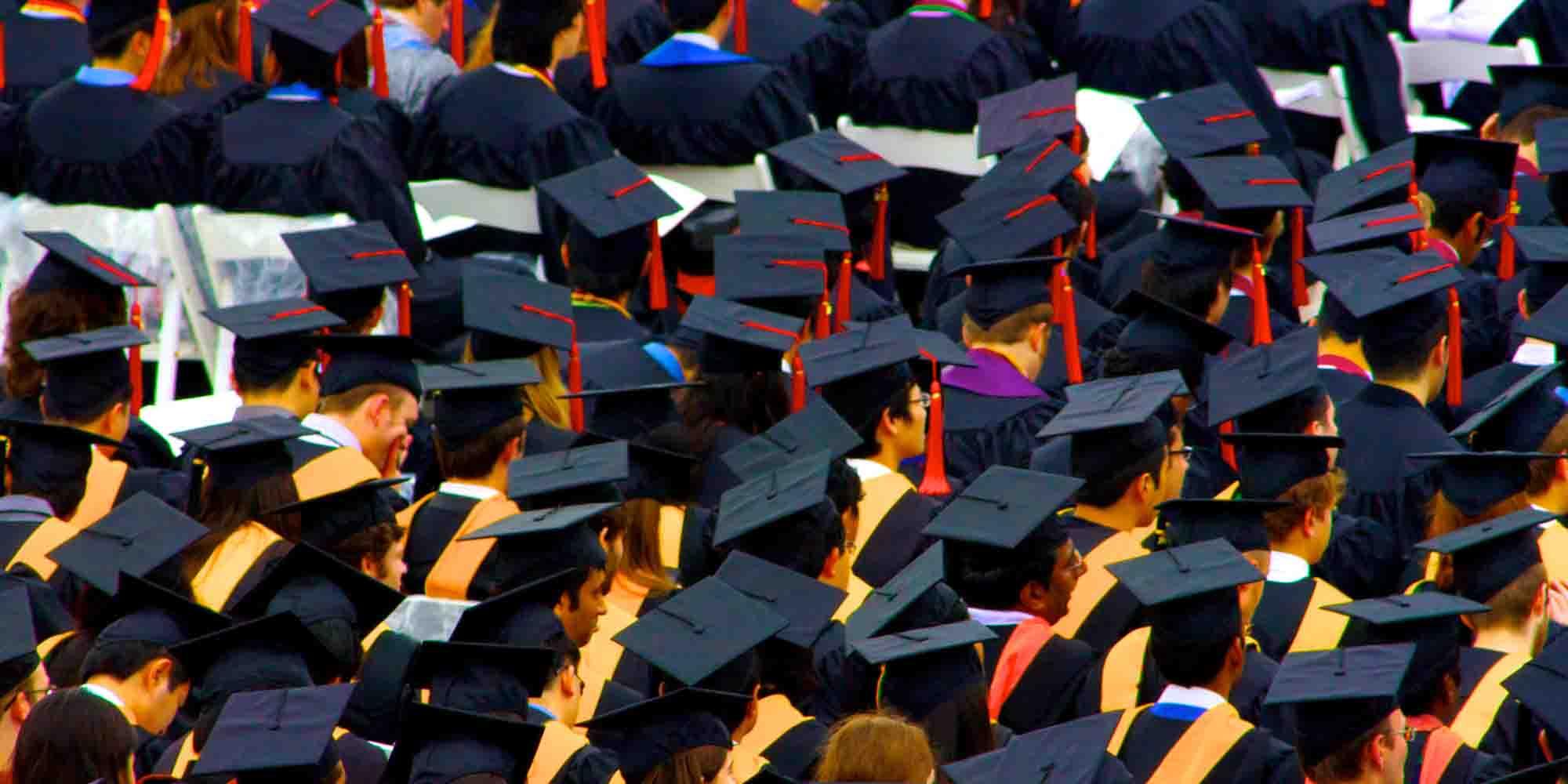 Graduation-Caps-Shcool-Human